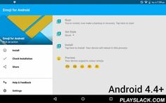Emoji For Android  Android App - playslack.com , Root is required for this application to functionPlease note that colour emoji are Android 4.4+, below that you will get black and white!Emoji For Android is the app to get emoji support on Android devices, with root access. Don't know what root is? Check here: http://quinny898.co.uk/redirect/root-guide.htmlThis application installs the fonts required for inputting and viewing emoji on Android. Please read the full description for information…