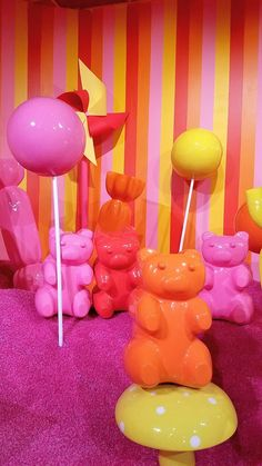 Travel Tuesday: Museum of Ice Cream in San Francisco - katie tucker - Travel Tuesday: Museum of Ice Cream in San Francisco Museum of Ice Cream in San Francisco, gummi bear room - Gummy Bears, San Francisco, Sf Museums, Ice Cream Museum, Mother's Day Theme, Candy Room, Ice Scream, Candy House, Kawaii Room