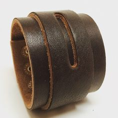Joxasa leather cuff.