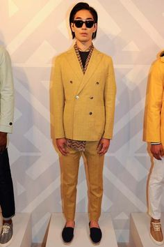 Hardy Amies | Spring 2015 Menswear Collection | Style.com