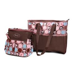BABY DIAPER BAG & MATERNITY HAND BAG 3 PC SET