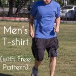 Men's t-shirt with free pattern - http://mellysews.com