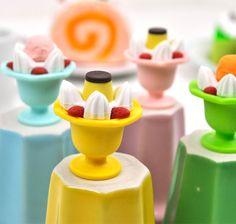 Food Erasers - Parfait Eraser Collection