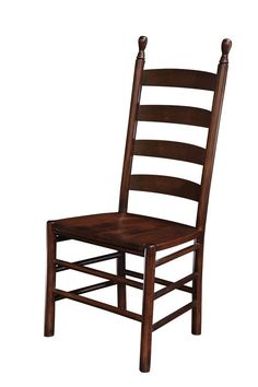 Amish Colonist Ladder Back dining chair
