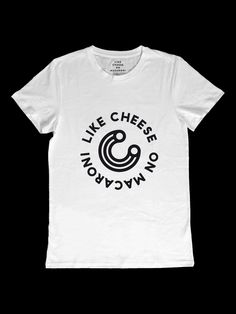 Like Cheese on Macaroni by T-wo by Like Cheese on Macaroni Macaroni, Mens Tops, Collection, Volcano, Design, Style, Organic, Cheese, Image
