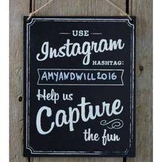 Instagram skilt Vintage