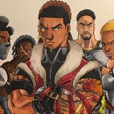 "2,063 Likes, 22 Comments - DraWMatic (@mr.drawmatic) on Instagram: ""You see this face @saturday_am one day this character and his crew will be in your manga line up believe that""  #blackanime #blackmanga #manga #anime"
