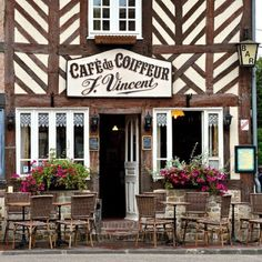 "From my board ""English pubs and French cafes"""
