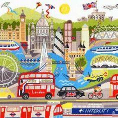 cross stitch london pattern - Google Search