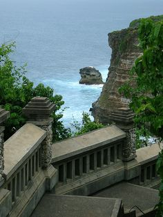 by jacobssalon on Flickr.  Uluwatu temple area in Bali, Indonesia.