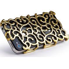 Nouveau Art Case Gold