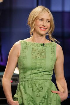 """NBC's """"The Tonight Show with Jay Leno"""" Vera Farmiga during an interview on March 15, 2013 -- Harper Simon Photos and Images 