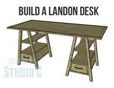 Build a Landon Desk