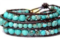 pinterest BRACELETS | Gemstone Bracelet by Cheers to July {Giveaway Week} - EverythingEtsy ...
