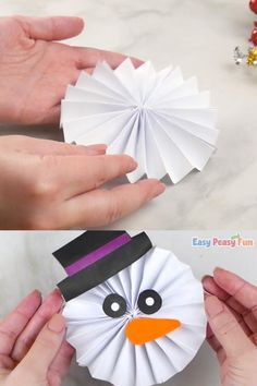 Christmas Crafts To Make, Winter Crafts For Kids, Diy Crafts For Kids, Kids Christmas, Halloween Crafts, Holiday Crafts, Simple Crafts, 242, Easy Paper Crafts