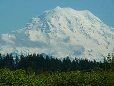Mt. Rainier from Puyallup