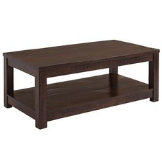Parsons Tobacco Brown Coffee Table | Pier 1 Imports