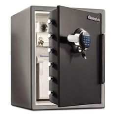 #Secure your valuables completely with #SentrySafe Water Resistant Digital Electronic Lock #FireSafe. Now available at reduced price.
