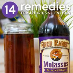 14 Home Remedies for Arthritis & Joint Pain- a great list of natural ways to relieve arthritis pain.
