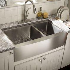 Nice 65 Modern Farmhouse Kitchen Sink Ideas https://roomaniac.com/65-modern-farmhouse-kitchen-sink-ideas/