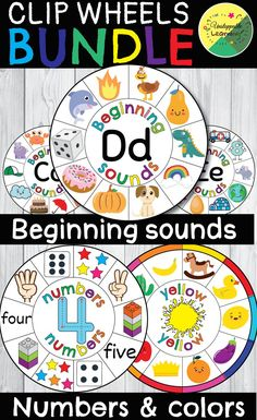Beginning sounds, colors and numbers Numbers Kindergarten, Kindergarten Lessons, Teacher Problems, Alphabet Activities, Language Activities, Alphabet Letters, Letter Tracing, Letter Recognition, Math Resources