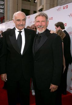 Sean Connery and Harrison Ford, Indiana Jones cast