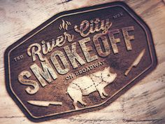 River City Smokeoff Logo v3