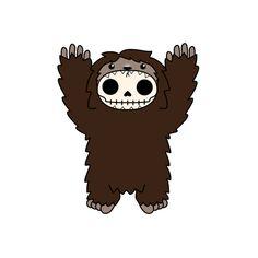 Furrybones® Bigfoot