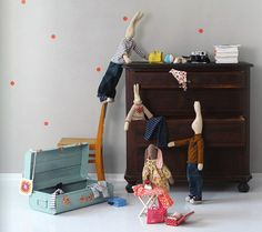 #juguetes de cuento para #niñosyniñas #muñecos de Maileg #charhadas