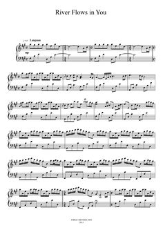 RIVER FLOWS IN YOU | MuseScore.com