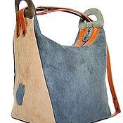 "Bag-transformador ""My Song"" - azul, sólido, senhoras bolsa, mochila"