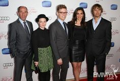 Miguel Ferrer, RenŽe Felice Smith, Barrett Foa, Daniela Ruah, and Eric Christian Olsen arrive at The Television Academy's 22nd Hall of Fame Induction Ceremony