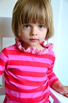 The Bateau Neck Top Sewing Pattern Children's Shirt by WeeMuses, $8.95