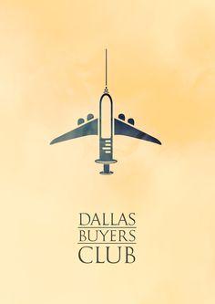 Afiche alternativo. Dallas Buyers Club