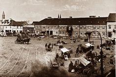 zdjęcia (obecnego) Placu Wolności z okresu zaboru rosyjskiego.
