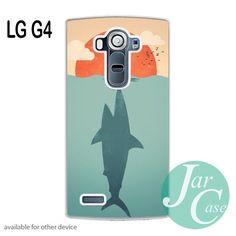 Shark attacks swimming woman Phone case for LG G4