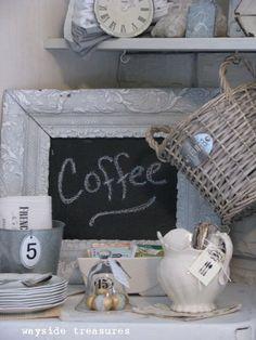 Coffee - place on coffee bar