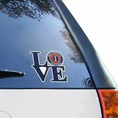 Duke Blue Devils 6'' Love Logo Vinyl Decal New York Rangers, New York Giants, Texas Rangers, Patrice Bergeron, Nhl, Vancouver Canucks, Florida Gators, Seattle Seahawks, Denver Broncos