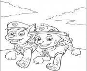 Paw Patrol Badges coloring page Free Printable Coloring