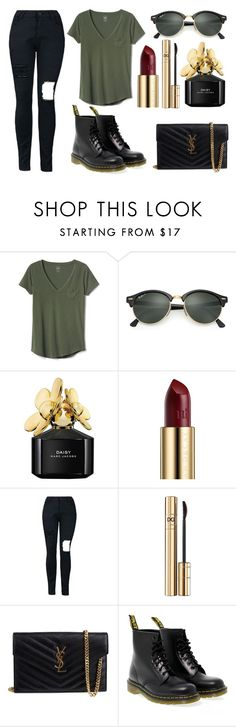 """125"" by angie-819 ❤ liked on Polyvore featuring Gap, Ray-Ban, Marc Jacobs, Urban Decay, Dolce&Gabbana, Yves Saint Laurent, Dr. Martens, Daisy, YSL and dolceandgabbana"