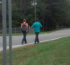 Oc 1 white kid in orange and chubby mexican kid 4:40 harrassing mecin front of bus stop. White one looks german they used all kinds of gestures to try to get me to react. White one in his 20 s looks scared later.