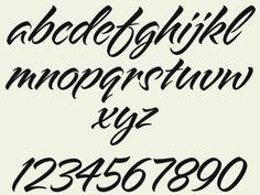 Letterhead Fonts / LHF Alpine Script / Script Fonts