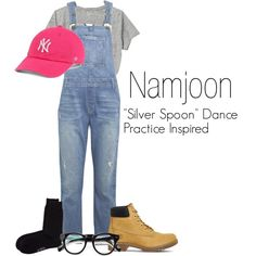 "Namjoon's ""Silver Spoon"" Dance Practice Inspired Outfit"