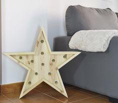 Estrella con Luz Pino