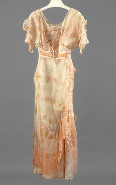 Afternoon dress   Girolamo Giuseffi   American   early 1910s   silk   Indianapolis Museum of Art   Accession #: 1986.396
