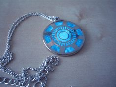 Iron Man Arc reactor necklace.. OMG This is so cool!