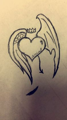 61 Trendy ideas for eye drawing sad anime art - - Easy Pencil Drawings, Sad Drawings, Art Drawings Sketches Simple, Drawings Of Hearts, Drawings Of Angels, Easy Heart Drawings, Cute Love Drawings, Drawing Ideas, Tumblr Drawings
