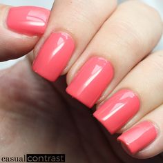 China Glaze Warm Wishes from the China Glaze Seas And Greetings Collection • Casual Contrast