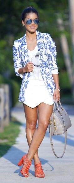 Super Vaidosa » Blog Archive » Look Do Dia: Ceramic Print Blazer #