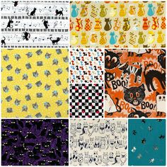 Fabric Friday - Crazy Cat Ladies - Cosmo Textiles, Kokka, Blend Fabric and Alexander Henry